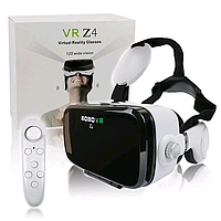 VR Очки Виртуальной Реальности Bobo Z4 С Пультом И Наушниками