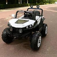 Детский электромобиль Багги 4WD (белый цвет) с пультом радиоуправления 2.4G