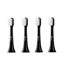 Набір насадок для електричної зубної щітки InFly PT02 Toothbrush Head Black (4 pcs)