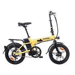 Електровелосипед Maxxter Urban Plus yellow-black