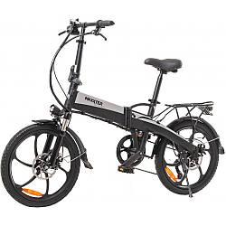 Електровелосипед Maxxter RUFFER black-silver