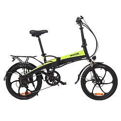 Електровелосипед Maxxter RUFFER black-green
