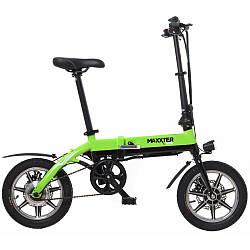 Електровелосипед Maxxter MINI black-green