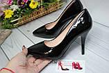 Туфлі жіночі класичні чорні, фото 5
