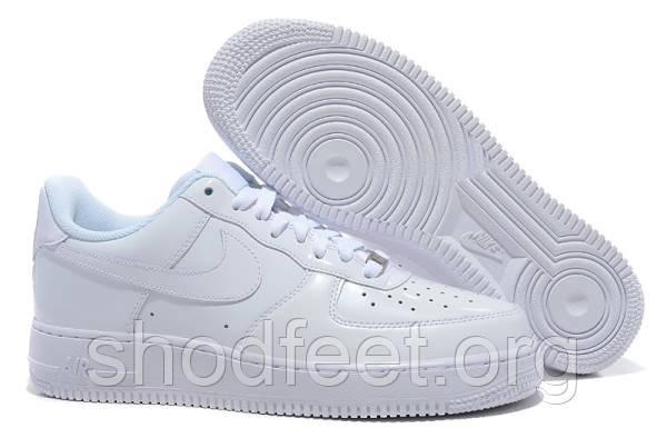 Мужские кроссовки Nike Air Force 1 White Low