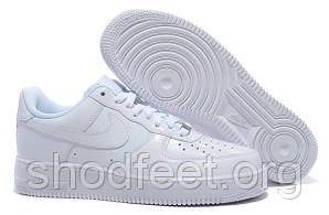 Мужские кроссовки Nike Air Force 1 White Low