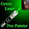 Лазерная ручка указка Green Laser Pointer с 5 насадками