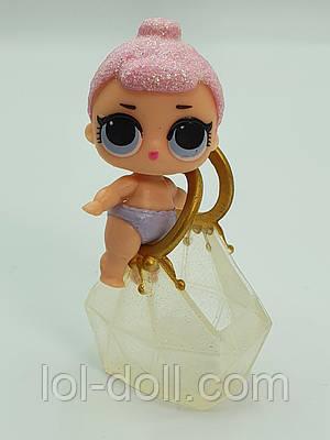 Кукла LOL Surprise 2 Серия Lil Crystal Queen - Принцесса Кристал Лол Сюрприз Без Шара Оригинал