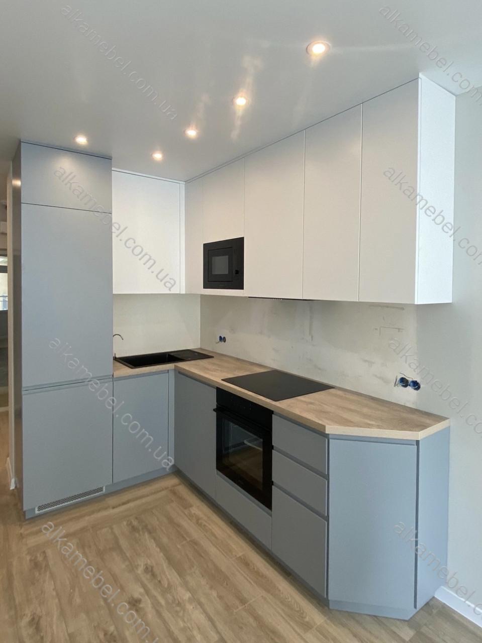 Кухня на замовлення в сучасному стилі. Кухня кутова Кухня модель 2021 року