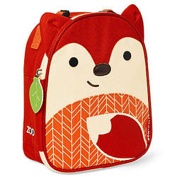 Детская термосумка Skip Hop Zoo lunch bag - Fox (Лисичка), 3+