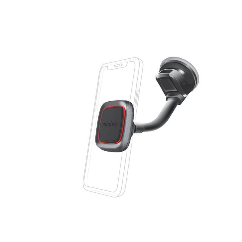 Тримач автомобільний Intaleo CM02GP Black (1283126483684)