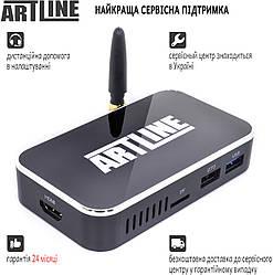 ARTLINE TvBox KMX3 4/32GB + Пульт AirMouse Voice Control G20s у подарунок!