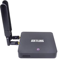 ARTLINE TvBox KM6 4/64GB + Пульт AirMouse Voice Control G20s у подарунок!