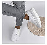 Жіночі класичні кросівки білі, фото 2