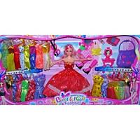 Кукла с набором одежды и аксессуарами