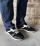 Чоловічі перфоровані кросівки alexandro натуральна шкіра 40, фото 7