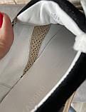 Мужские перфорированные кроссовки alexandro натуральная кожа 40, фото 5