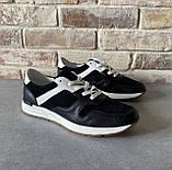 Мужские перфорированные кроссовки alexandro натуральная кожа 40, фото 3