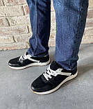 Чоловічі перфоровані кросівки alexandro натуральна шкіра 40, фото 8