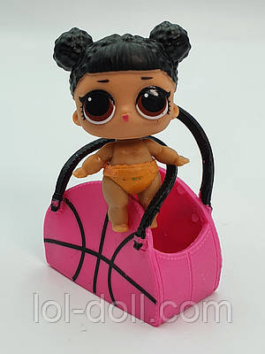 Кукла LOL Surprise 2 Серия Lil Hoops Mvp -Бейби Баскетболистка Лол Сюрприз Без Шара Оригинал