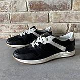 Мужские перфорированные кроссовки alexandro натуральная кожа 44, фото 2