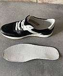 Чоловічі перфоровані кросівки alexandro натуральна шкіра 44, фото 4