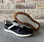 Чоловічі перфоровані кросівки alexandro натуральна шкіра 44, фото 6