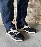 Чоловічі перфоровані кросівки alexandro натуральна шкіра 44, фото 7