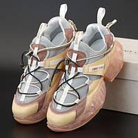 Женские кроссовки в стиле Jimmy Choo DIAMOND TRAIL, розовый, Вьетнам
