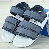 Женские сандалии в стиле Adidas Adilette Sandal, серый, Китай