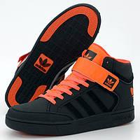Мужские кроссовки в стиле Adidas Varial MID, черный, оранжевый, Индия