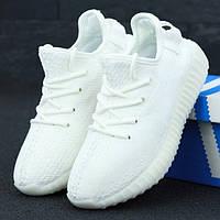 Мужские кроссовки в стиле Adidas Yeezy 350 BOOST, белый, Вьетнам