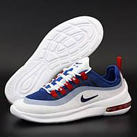 Мужские кроссовки в стиле Nike Air Max Axis PREMIUM, белый, синий, красный, Вьетнам