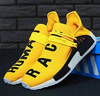 Мужские кроссовки в стиле Adidas NMD x Pharrell Williams, желтый, Вьетнам