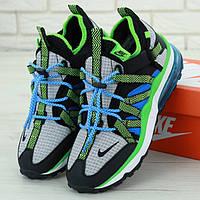 Мужские кроссовки в стиле Nike Air Max 270 Bowfin, черный, синий, зеленый, серый, Вьетнам
