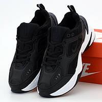 Мужские кроссовки в стиле Nike M2K Tekno, черный, Вьетнам