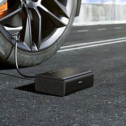 Автомобільний насос Baseus Smart Inflator Pump Black (CRCQB01-01)