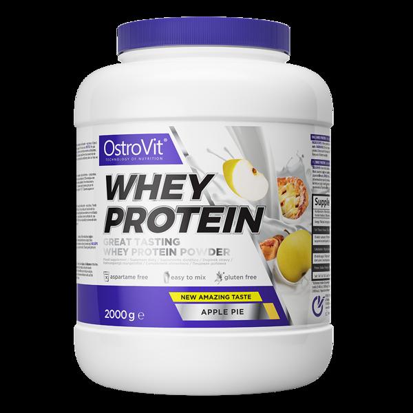 Протеїн Whey Protein OstroVit 2 кг Яблучний пиріг