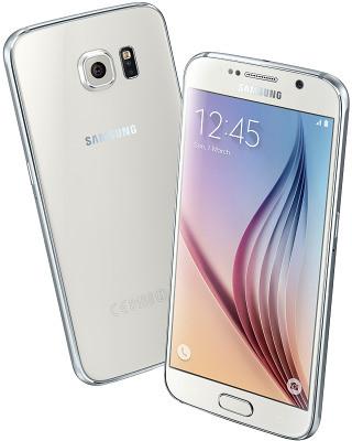 Смартфон Samsung Galaxy S6 Duos 32GB (White Pearl)