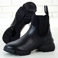 Женские ботинки в стиле Dior Boots Total, черный, Вьетнам