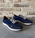 Мужские перфорированные кроссовки alexandro натуральная кожа 41, фото 3