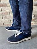 Мужские перфорированные кроссовки alexandro натуральная кожа 44, фото 7