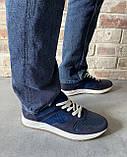 Мужские перфорированные кроссовки alexandro натуральная кожа 44, фото 8