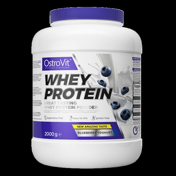 Протеїн Whey Protein OstroVit 2 кг Чорниця