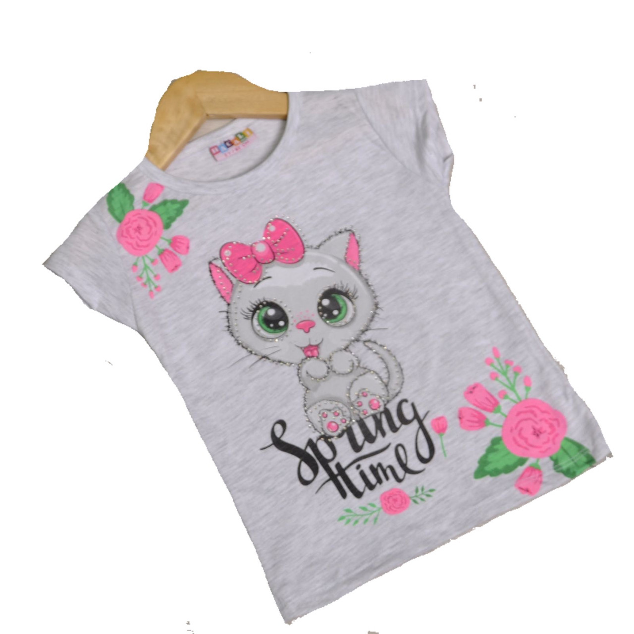 Детская футболка для девочки, 92см