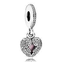 Шарм-подвеска Pandora Крылья ангела, Пандора серебро