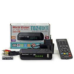 ТВ-ресивер World Vision T624D3