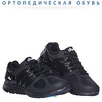 Ортопедические кроссовки при диабете dw classic Pure Black Diawin (мужские)