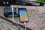 Бесщёточная аккумуляторная цепная пила Greenworks GD24X2CS36 48 V с АКБ и ЗУ  48V (2 X 24V) Новинка 2020 года, фото 9