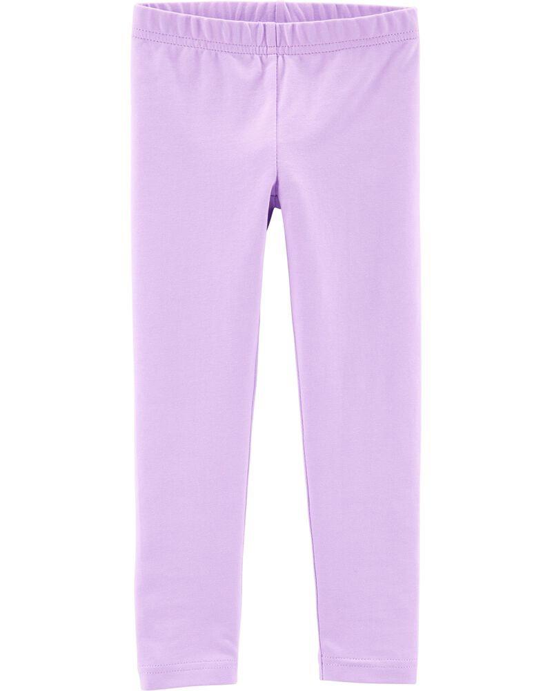 Гарні лосини фіолетового кольору для дівчинки Carters